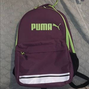 Brand new never been used puma backpack
